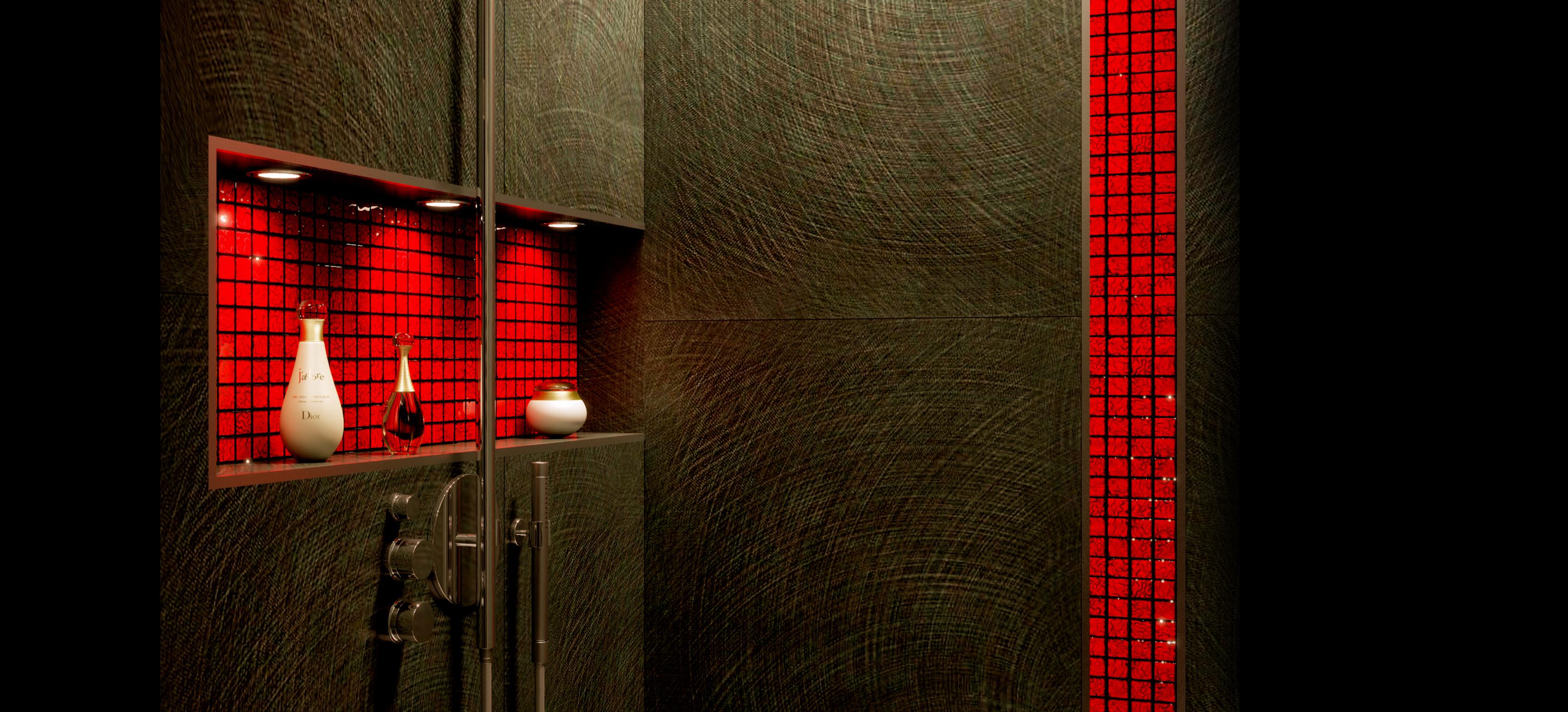 Aménagement d'une douche (Paris)