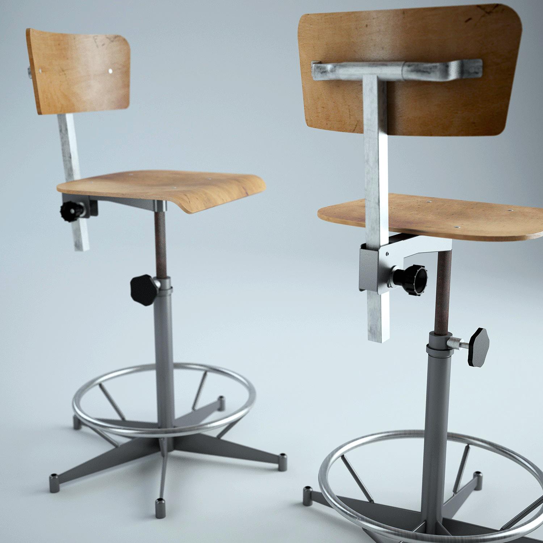 fauteuil d 39 atelier cadview s bastien hommet. Black Bedroom Furniture Sets. Home Design Ideas