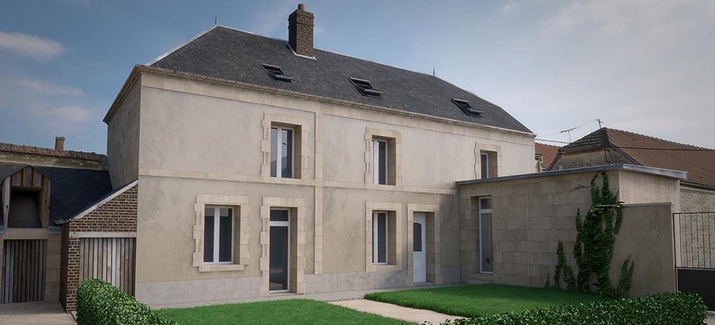 Rénovation d'une habitation (Marne)